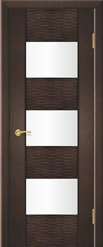 """Дверь Ремьеро 8 купить в Санкт-Петербурге по низкой цене (цвет: венге натуральный 07) от производителя межкомнатных дверей """"Геона"""