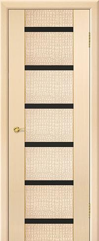 """Дверь Ремьеро 6 купить в Санкт-Петербурге по низкой цене (цвет: дуб молочный 05) от производителя межкомнатных дверей """"Геона"""