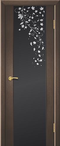 """Дверь Клен купить в Санкт-Петербурге по низкой цене (цвет: венге натуральный) от производителя межкомнатных дверей """"Геона"""