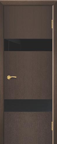 """Дверь Лабиринт 2 купить в Санкт-Петербурге по низкой цене (цвет: венге натуральный) от производителя межкомнатных дверей """"Геона"""