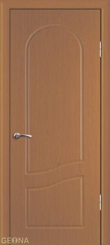 """Дверь Анастасия ДГ купить в Санкт-Петербурге по низкой цене (цвет: каштан) от производителя межкомнатных дверей """"Геона"""