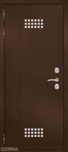 Дверь входная уличная Арктик NS6 купить в Санкт-Петербурге по низкой цене от производителя дверей Геона
