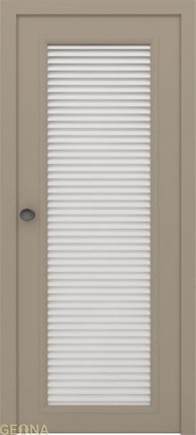"""Дверь жалюзийная GL 1 купить в Санкт-Петербурге по низкой цене от производителя межкомнатных дверей """"Геона"""