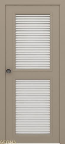 """Дверь жалюзийная GL 2-2 купить в Санкт-Петербурге по низкой цене от производителя межкомнатных дверей """"Геона"""