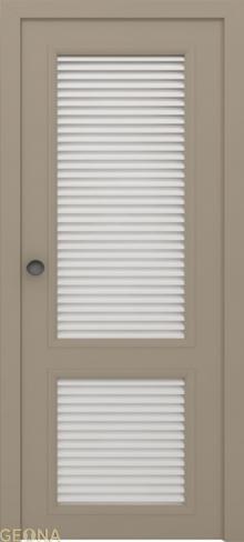 """Дверь жалюзийная GL 2 купить в Санкт-Петербурге по низкой цене от производителя межкомнатных дверей """"Геона"""