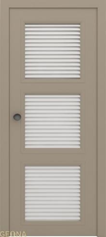 """Дверь жалюзийная GL 3 купить в Санкт-Петербурге по низкой цене от производителя межкомнатных дверей """"Геона"""