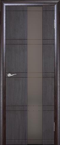 """Дверь Квадро купить в Санкт-Петербурге по низкой цене (цвет: венге шелк) от производителя межкомнатных дверей """"Геона"""