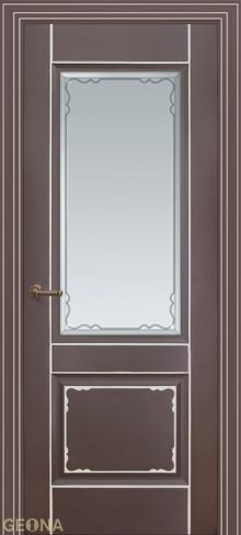 """Дверь Мадрид ДО купить в Санкт-Петербурге по низкой цене от производителя межкомнатных дверей """"Геона"""