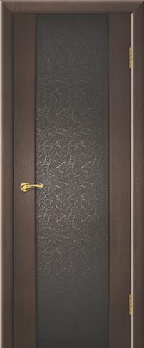 """Дверь Мираж купить в Санкт-Петербурге по низкой цене (цвет: венге натуральный) от производителя межкомнатных дверей """"Геона"""