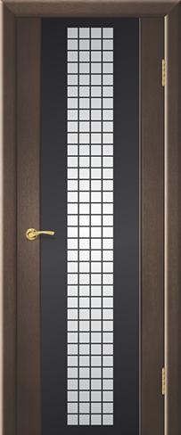 """Дверь Мозайка купить в Санкт-Петербурге по низкой цене (цвет: венге натуральный) от производителя межкомнатных дверей """"Геона"""