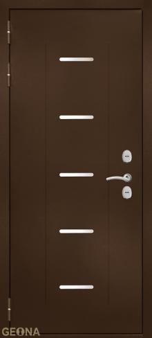 Дверь входная уличная Арктик NS5 купить в Санкт-Петербурге по низкой цене от производителя дверей Геона