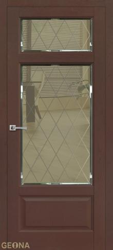 """Дверь Романс 5 купить в Санкт-Петербурге по низкой цене от производителя межкомнатных дверей """"Геона"""