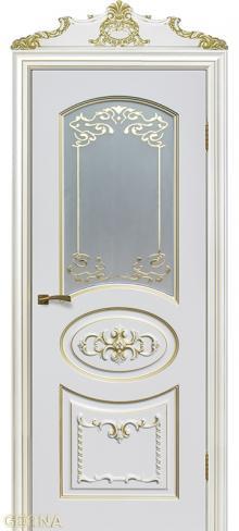 Купить межкомнатную дверь Тессоро с поталью в Санкт-Петербурге от производителя
