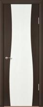 """Дверь Вираж 1 купить в Санкт-Петербурге по низкой цене (цвет: венге полосатый) от производителя межкомнатных дверей """"Геона"""