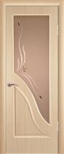 """Дверь Жасмин купить в Санкт-Петербурге по низкой цене (цвет: дуб беленый) от производителя межкомнатных дверей """"Геона"""