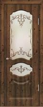 """Дверь Виктория купить в Санкт-Петербурге по низкой цене (цвет: кедр) от производителя межкомнатных дверей """"Геона"""