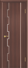 """Дверь Аккорд 1 купить в Санкт-Петербурге по низкой цене (цвет: тик гранат) от производителя межкомнатных дверей """"Геона"""