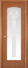 """Дверь Фонтан ДО купить в Санкт-Петербурге по низкой цене (цвет: орех янтарь) от производителя межкомнатных дверей """"Геона"""