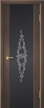 """Дверь Фрезия купить в Санкт-Петербурге по низкой цене (цвет: венге натуральный) от производителя межкомнатных дверей """"Геона"""
