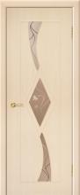 """Дверь Рубин  купить в Санкт-Петербурге по низкой цене (цвет: дуб молочный) от производителя межкомнатных дверей """"Геона"""