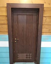 Двери Омега 3 ДГ. Цвет Черное дерево матовое