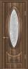 """Дверь Версаль купить в Санкт-Петербурге по низкой цене (цвет: орех седой темный) от производителя межкомнатных дверей """"Геона"""