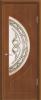 """Дверь Сфера купить в Санкт-Петербурге по низкой цене (цвет: орех) от производителя межкомнатных дверей """"Геона"""