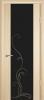 """Дверь Люкс 1 с гравировкой купить в Санкт-Петербурге по низкой цене (цвет: дуб беленый) от производителя межкомнатных дверей """"Геона"""