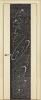 """Дверь Люкс 1 с тканью и стразами купить в Санкт-Петербурге по низкой цене (цвет: лен) от производителя межкомнатных дверей """"Геона"""