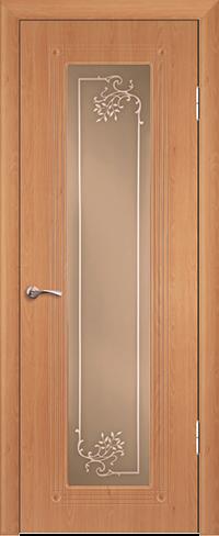 """Дверь Элегия купить в Санкт-Петербурге по низкой цене (цвет: бук) от производителя межкомнатных дверей """"Геона"""