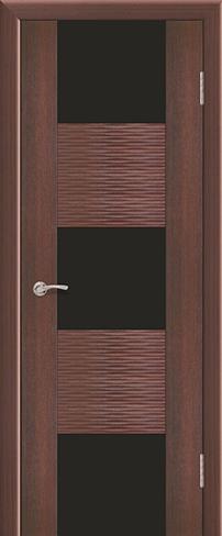 """Дверь Ремьеро 4 купить в Санкт-Петербурге по низкой цене (цвет: тик гранат) от производителя межкомнатных дверей """"Геона"""