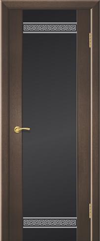 """Дверь Египет купить в Санкт-Петербурге по низкой цене (цвет: венге натуральный) от производителя межкомнатных дверей """"Геона"""