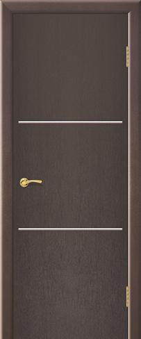 """Дверь Лайн 2 купить в Санкт-Петербурге по низкой цене (цвет: венге натуральный) от производителя межкомнатных дверей """"Геона"""