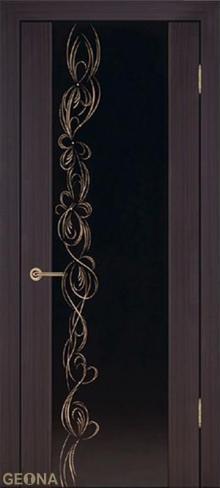 """Купить межкомнатную дверь Люкс 1 """"Мокка"""" в Санкт-Петербурге"""