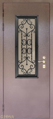 Дверь входная стеклопакет S2 купить в Санкт-Петербурге по низкой цене от производителя дверей Геона