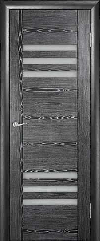 """Дверь Трио купить в Санкт-Петербурге по низкой цене (цвет: черный жемчуг) от производителя межкомнатных дверей """"Геона"""