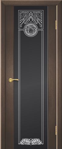 """Дверь Зевс купить в Санкт-Петербурге по низкой цене (цвет: венге натуральный) от производителя межкомнатных дверей """"Геона"""