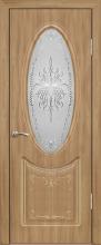 """Дверь Корона купить в Санкт-Петербурге по низкой цене (цвет: анегри светлый) от производителя межкомнатных дверей """"Геона"""
