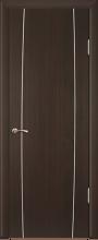"""Дверь Модерн купить в Санкт-Петербурге по низкой цене (цвет: венге полосатый) от производителя межкомнатных дверей """"Геона"""