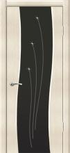 """Дверь Бриз купить в Санкт-Петербурге по низкой цене (цвет: белое серебро) от производителя межкомнатных дверей """"Геона"""