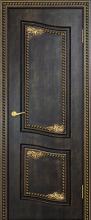 """Дверь Велла купить в Санкт-Петербурге по низкой цене (цвет: венге темный) от производителя межкомнатных дверей """"Геона"""