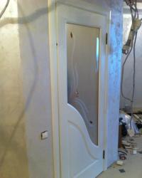 Дверь Жасмин с фьюзингом