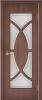 """Дверь Камея купить в Санкт-Петербурге по низкой цене (цвет: тик гранат) от производителя межкомнатных дверей """"Геона"""