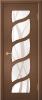 """Дверь Лиана купить в Санкт-Петербурге по низкой цене (цвет: орех крупно рад) от производителя межкомнатных дверей """"Геона"""