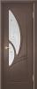 """Дверь Муза купить в Санкт-Петербурге по низкой цене (цвет: венге натуральный) от производителя межкомнатных дверей """"Геона"""